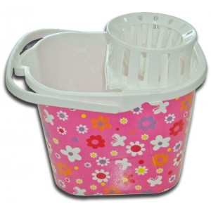 Cubo Deluxe Flores Rosa
